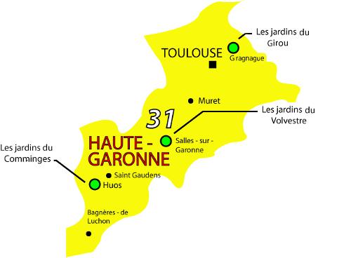Jardins de Cocagne en Occitanie: Haute-Garonne